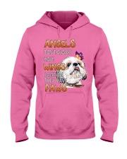 shih tzu angels Hooded Sweatshirt thumbnail
