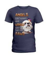 shih tzu angels Ladies T-Shirt front