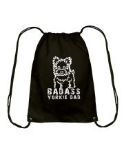 Badasssssss yorkie dad Gift Mug Drawstring Bag thumbnail