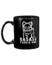 Badasssssss yorkie dad Gift Mug Mug back