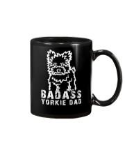 Badasssssss yorkie dad Gift Mug Mug front