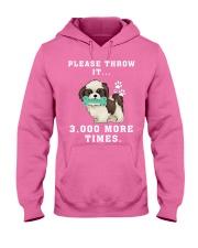 Shih Tzu - Throw it 3000 more times Hooded Sweatshirt thumbnail