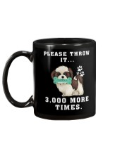 Shih Tzu - Throw it 3000 more times Mug back