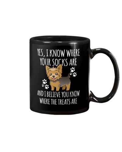 Yes I know where your socks are Gift Mug