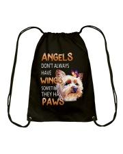 Yorkie Angels Drawstring Bag thumbnail