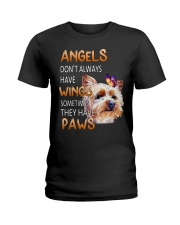 Yorkie Angels Ladies T-Shirt front