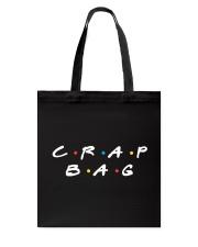 CRAP BAG Tote Bag front