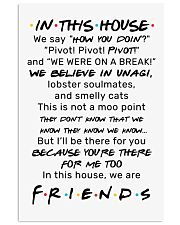 IN THIS HOUSE 11x17 Poster front