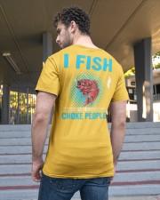 I Fish So I Don't Choke People Classic T-Shirt apparel-classic-tshirt-lifestyle-back-48