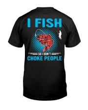 I Fish So I Don't Choke People Premium Fit Mens Tee thumbnail