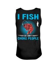 I Fish So I Don't Choke People Unisex Tank thumbnail