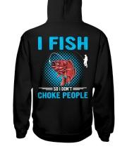 I Fish So I Don't Choke People Hooded Sweatshirt thumbnail