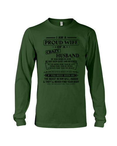 PROUD WIFE OF CRAZY HUSBAND