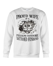 Proud Wife Crewneck Sweatshirt thumbnail