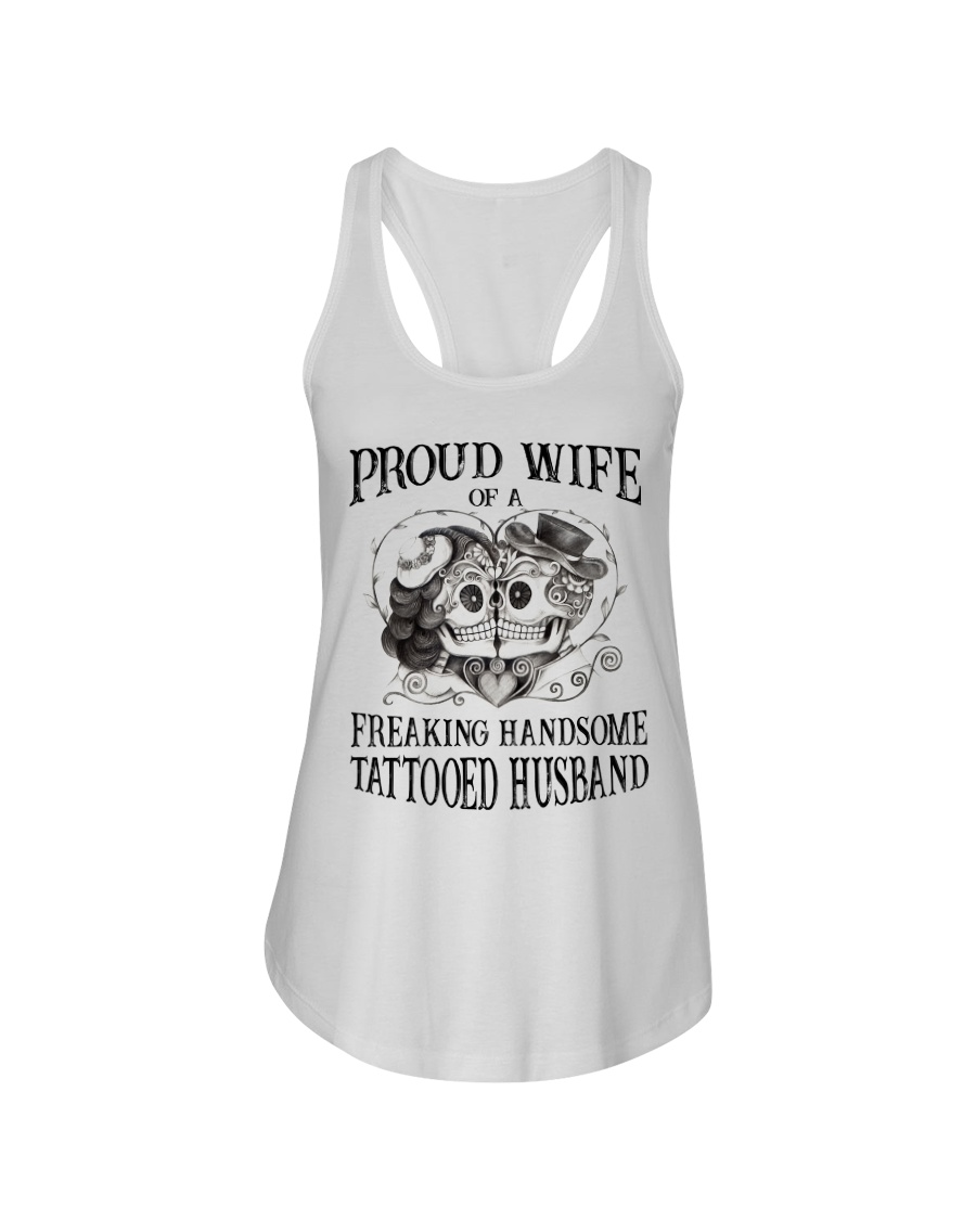 Proud Wife Ladies Flowy Tank