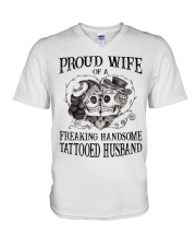 Proud Wife V-Neck T-Shirt thumbnail