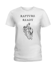 Rapture Ready Tee Shirts Ladies T-Shirt front