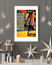I Don't Ride My Bike To Win Races Poster 11x17 Poster lifestyle-holiday-poster-1