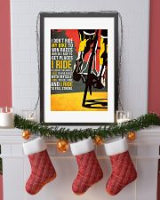 I Don't Ride My Bike To Win Races Poster 11x17 Poster lifestyle-holiday-poster-4
