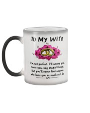 Ring to my wife i'm not perfect mug Color Changing Mug color-changing-left