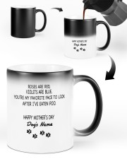 Personalized Dog parents roses are red violets are Color Changing Mug ceramic-color-changing-mug-lifestyle-48