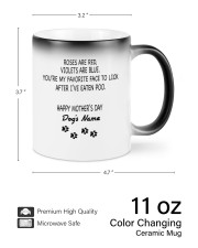 Personalized Dog parents roses are red violets are Color Changing Mug ceramic-color-changing-mug-lifestyle-74