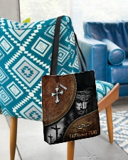 Faith over fear all over tote bag All-over Tote aos-all-over-tote-lifestyle-front-01