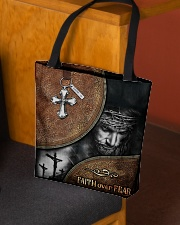 Faith over fear all over tote bag All-over Tote aos-all-over-tote-lifestyle-front-02