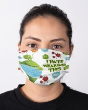 Coronavirus i hate wearing this grinch face mask Cloth face mask aos-face-mask-lifestyle-01