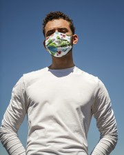 Coronavirus i hate wearing this grinch face mask Cloth face mask aos-face-mask-lifestyle-11
