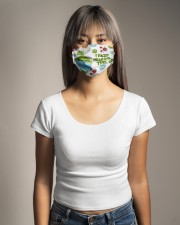 Coronavirus i hate wearing this grinch face mask Cloth face mask aos-face-mask-lifestyle-15