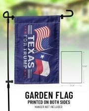 """Texas For Trump flag 11.5""""x17.5"""" Garden Flag aos-garden-flag-11-5-x-17-5-lifestyle-front-01"""