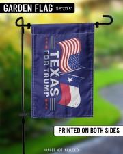 """Texas For Trump flag 11.5""""x17.5"""" Garden Flag aos-garden-flag-11-5-x-17-5-lifestyle-front-08"""