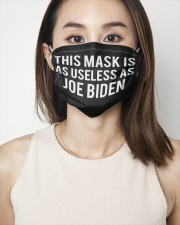This mask is as useless as Joe Biden face mask 2 Layer Face Mask - Single aos-face-mask-2-layers-lifestyle-front-01