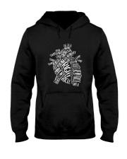 Nurse -Anatomical Hooded Sweatshirt thumbnail