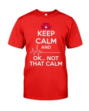 Keep calm Classic T-Shirt front