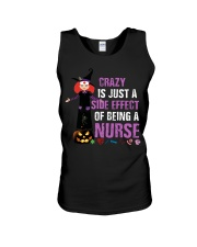 Crazy Is Just A Side Effect of Being A Nurse Unisex Tank thumbnail