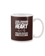 Cute Enough To Stop Your Heart Mug thumbnail
