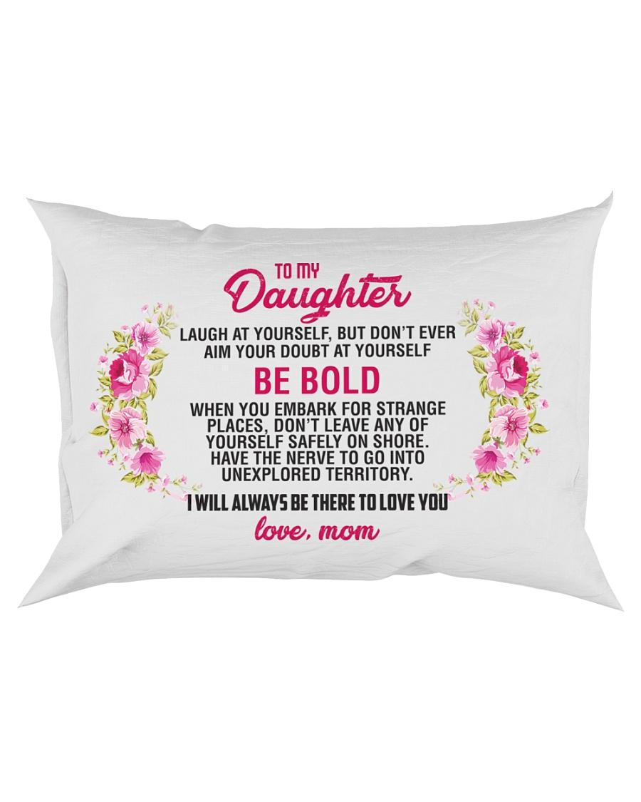 To My Daughter Rectangular Pillowcase