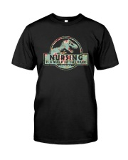 Nursing Is A Walk In The Park Classic T-Shirt front