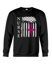 Nurse - Flag Crewneck Sweatshirt thumbnail