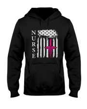 Nurse - Flag Hooded Sweatshirt thumbnail
