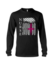 Nurse - Flag Long Sleeve Tee thumbnail