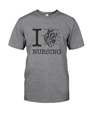 I love Nursing Classic T-Shirt front