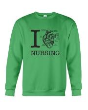 I love Nursing Crewneck Sweatshirt thumbnail