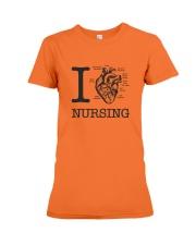 I love Nursing Premium Fit Ladies Tee thumbnail