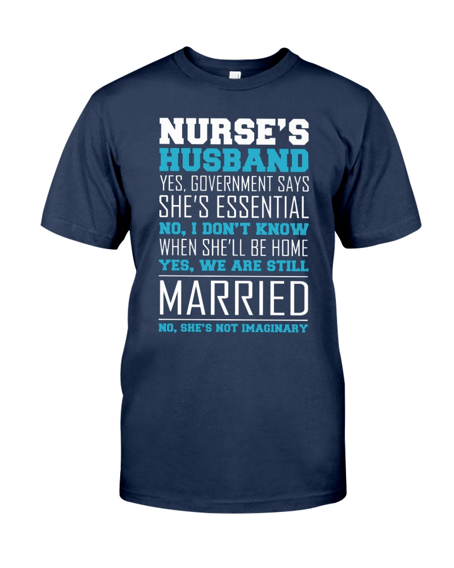 Nurse's Husband Classic T-Shirt