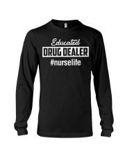 Educated Drug Dealer Long Sleeve Tee thumbnail
