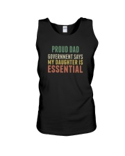 proud dad Unisex Tank tile
