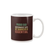 proud dad Mug tile